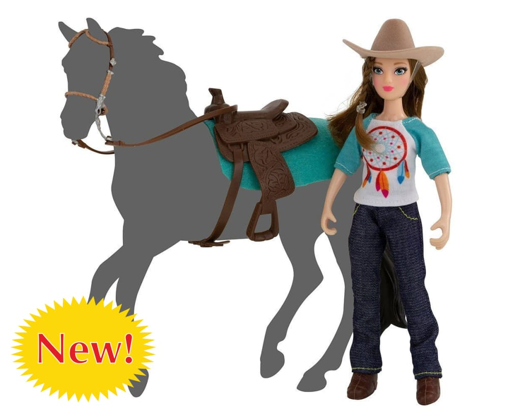 BR62025 NATALIE THE COW GIRL FIGURE FREEDOM SERIES