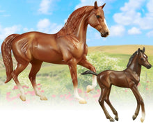 Load image into Gallery viewer, BR62209 SMOOTH RIDER PASCO FINO MARE AND FOAL FREEDOM SERIES
