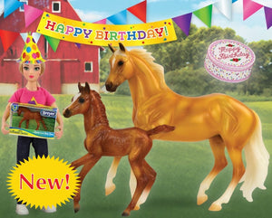 BR62301 BIRTHDAY AT THE BARN PLAY SET FREEDOM SERIES