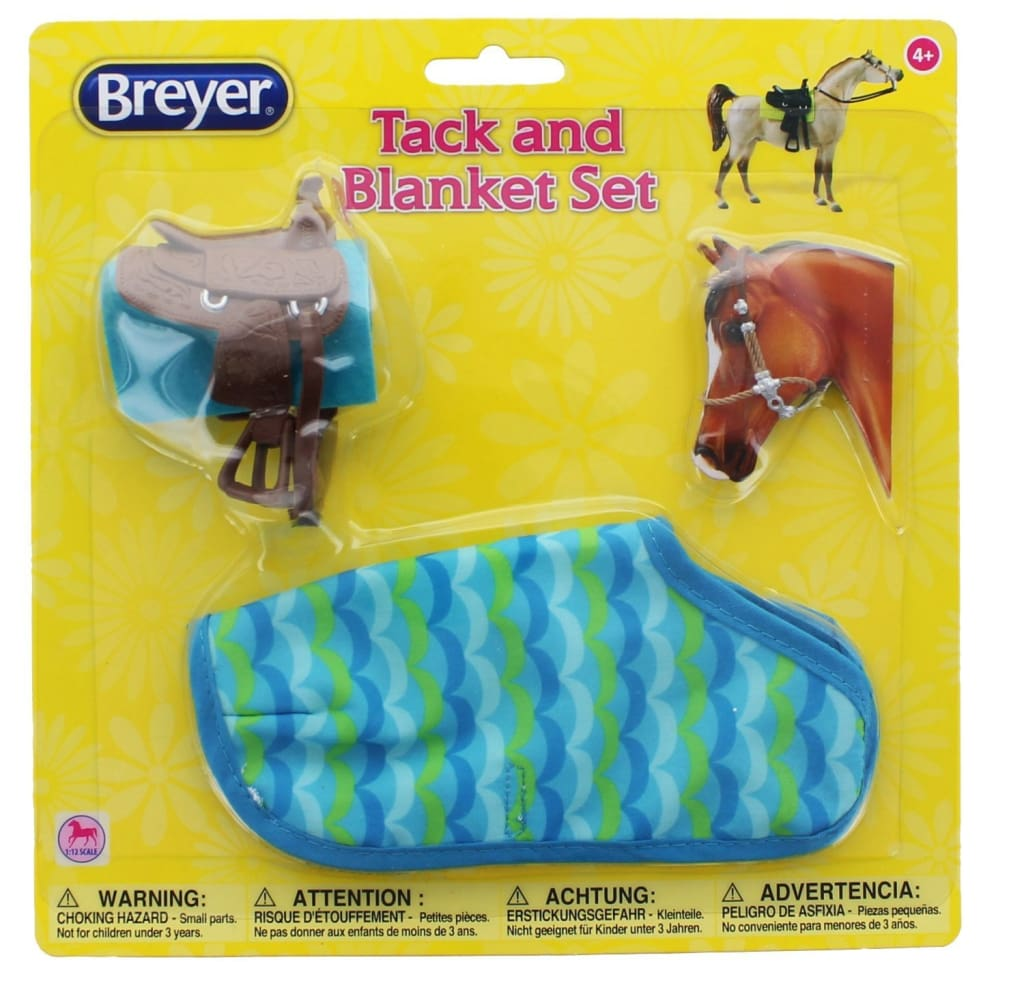 BR66117 Breyer Classics Tack and Blanket Set (1:12 scale)