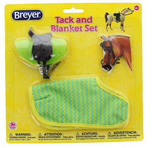 BR66115 Breyer Classics Tack and Blanket Set (1:12 scale)