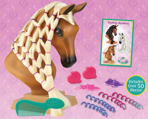 BR7402 Breyer Mane Beauty Styling Head - Sunset