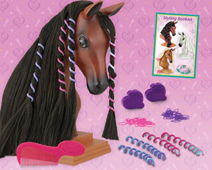 BR7403 Breyer Mane Beauty Styling Head - Blaze
