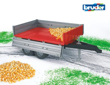Load image into Gallery viewer, B02019 Bruder Drop-sided Tipping Trailer