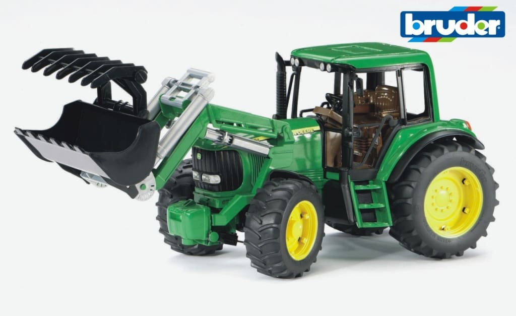 B02052 Bruder John Deere 6920 Tractor With Front Loader Tractors And Machinery (1:16 Scale)