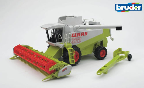B02120 Bruder 1.20 Scale Claas Lexion 480 Combine Harvester + Header Trailer