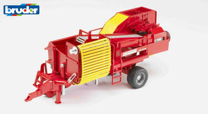 B02130 Bruder Grimme Potato Digger + 80 Potatoes