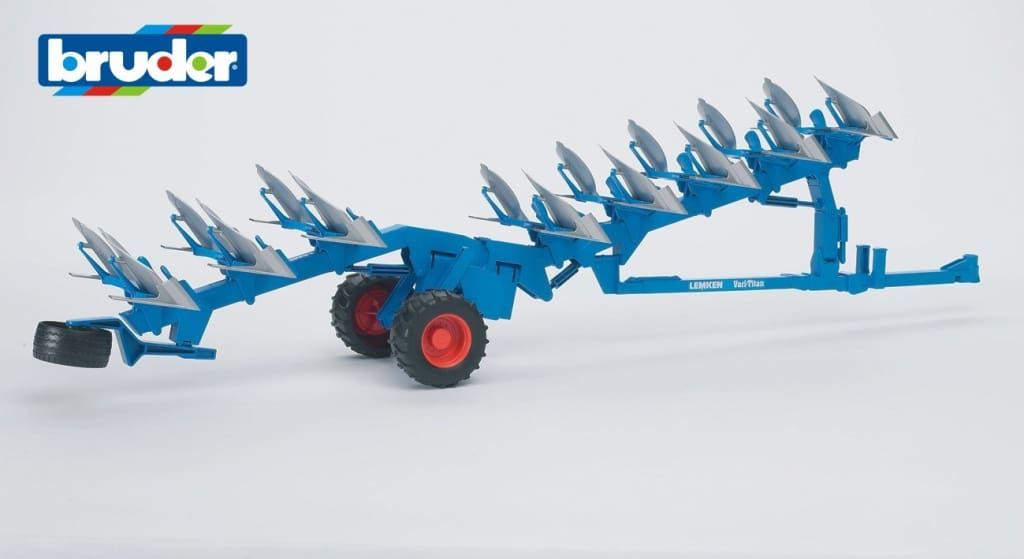 B02250 Bruder Lemken Reversible Plough