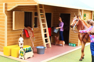 Bt1000 Equestrian Centre With Free Bt1060 Horse & Foal Set! Department (All Scales)