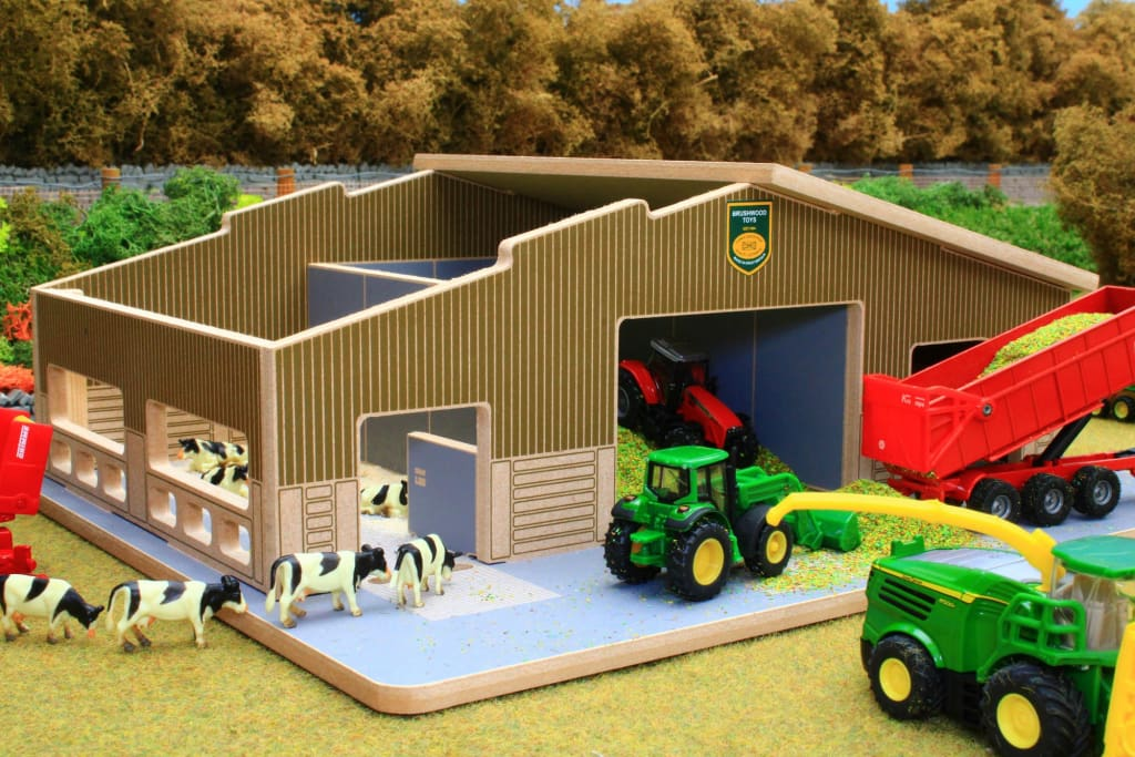 BT1870 1:87 Scale Multi-Purpose Farm Building