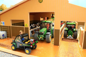 Bt3000 Traditional Cubicle Shed With Free Set Of Britains Fresian Cows! Farm Buildings & Stables
