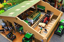 Load image into Gallery viewer, Bt3000 Traditional Cubicle Shed With Free Set Of Britains Fresian Cows! Farm Buildings & Stables
