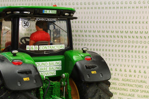 Bt3075 Contractors Sticker Set - Green Farming Accessories And Diorama Dept
