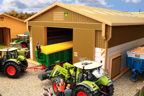 Bt8100 Arable Storage Shed With Free Brushwood Dumpy Bags! Farm Buildings & Stables (1:32 Scale)