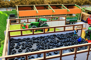 Bt8500 Monster Silage Clamp With Free Siku Holares Maize Leveller! Farm Buildings & Stables (1:32
