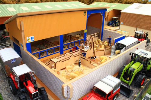Bt8750 Sheep Handling Unit With Free Brushwood Cattle Grid! Farm Buildings & Stables (1:32 Scale)