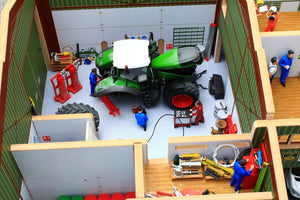 Elevated view of workshop in the BT8990 Agricultural Contractors Base