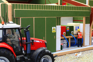 Sliding Doors and Fuel Tank Bay of BT8990 Agricultural Contractors Base