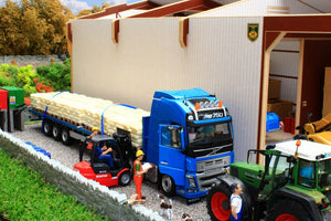Bteuro3 Euro Style Potato Store With Free Brushwood Potato Boxes! Farm Buildings & Stables (1:32