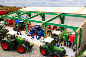 Bteuro5 Extension To Euro Tractor And Machinery Shed Farm Buildings & Stables (1:32 Scale)