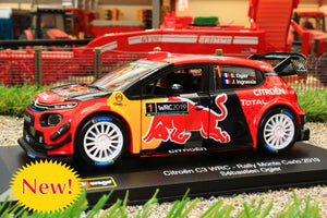 BUR41053 BURAGO 132 SCALE CITROEN WRT RALLY CAR