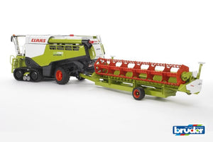 B02119 Bruder Claas Lexion 780 Terra Trac Tractors And Machinery (1:16 Scale)