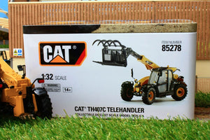 Dm85278 Diecast Masters 132 Scale Cat Th407C Telehander Tractors And Machinery (1:32 Scale)