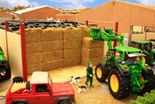Load image into Gallery viewer, PB17 LARGE OPEN DOUBLE SILAGE CLAMP (RED OXIDE)