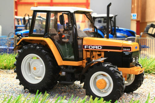 IMBER MODELS FORD 5640 SLE 4WD INDUSTRIAL TRACTOR - YELLOW (IMB002-1283)