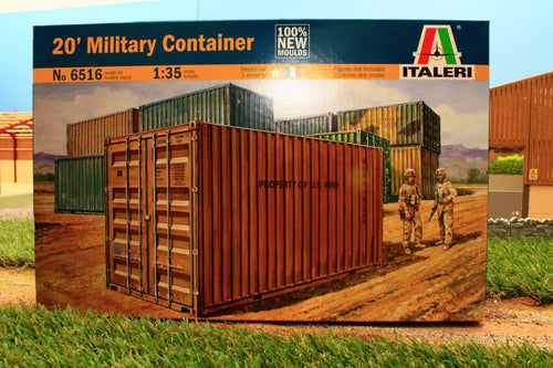 ITA6516 ITALERI SHIPPING CONTAINER (1:35 SCALE)