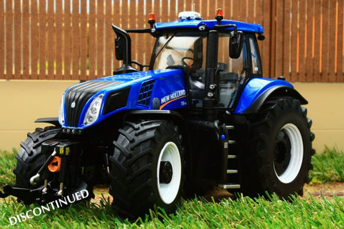 MM1704 MARGE MODELS NEW HOLLAND T8.435 BLUE TRACTOR