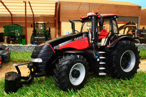 MM1818 MARGE MODELS CASE MAGNUM 380 TRACTOR BLACK RED VERSION