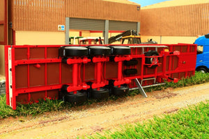 MM1901-01 MARGE MODELS PACTON FLATBED LORRY TRAILER IN RED