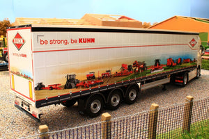 MM1902-01-05 MARGE MODELS PACTON CURTAINSIDER LORRY TRAILER KUHN EDITION