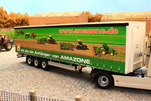 Mm1902-01-06 Marge Models Pacton Curtainsider Lorry Trailer Amazone Edition Tractors And Machinery