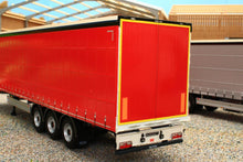 Load image into Gallery viewer, MM1902-01-12 MARGE MODELS PACTON CURTAINSIDER LORRY TRAILER IN PLAIN RED