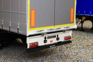 MM1902-01-13 MARGE MODELS PACTON CURTAINSIDER LORRY TRAILER IN PLAIN GREY