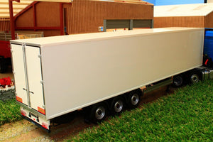 MM1903-01 MARGE MODELS PACTON REEFER TRAILER IN WHITE