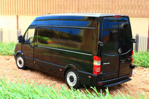 Mm1905-02 Marge Models Mercedes Sprinter Van In Black ** £10 Off! Now £58.68! Tractors And