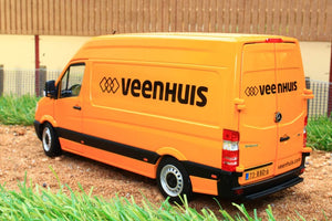 Mm1905-05 Marge Models Mercedes Sprinter Van In Yellow With Veenhuis Livery ** £10 Off! Now