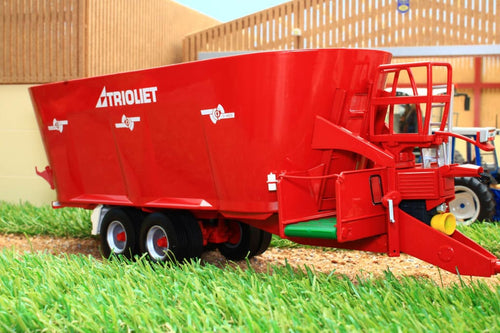 MM1906 MARGE MODELS TRIOLET SOLOMIX 3 4600 VLX-B-T FODDER MIXER WAGON