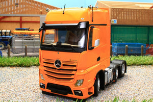 MM1912-05 MARGE MODELS MERCEDES BENZ ACTROS GIGASPACE 6 X 2 IN YELLOW