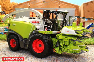 MM2017 MARGE MODELS CLAAS JAGUAR 990 FORAGE HARVESTER WITH ORBIS 750 MAIZE HEADER