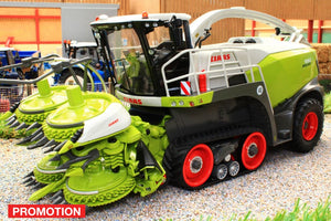 MM2018 MARGE MODELS CLAAS JAGUAR 990 FORAGE HARVESTER TERRA TRAC WITH ORBIS 750 MAIZE HEADER