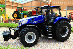 MM2022 MARGE MODELS NEW HOLLAND T8.435 GENESIS BLUE POWER 4WD TRACTOR