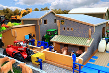 Load image into Gallery viewer, Bt8860 My Third Farm Play Set With Free Britains Mixed Animal Set! Buildings & Stables (1:32 Scale)
