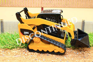 Nor55226 Norscot Cat 299C Compact Tracked Loader Discontinued Tractors And Machinery (1:32 Scale)