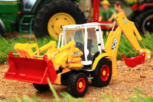 Load image into Gallery viewer, OXF763CX003 OXFORD DIE CAST 176 SCALE JCB 3CX ECO BACKHOE LOADER (70TH ANIV)