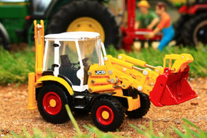 OXF763CX003 OXFORD DIE CAST 176 SCALE JCB 3CX ECO BACKHOE LOADER (70TH ANIV)