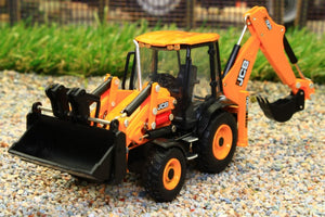 OXF763CX004 OXFORD DIECAST 176 SCALE JCB ECO BACKHOE LOADER